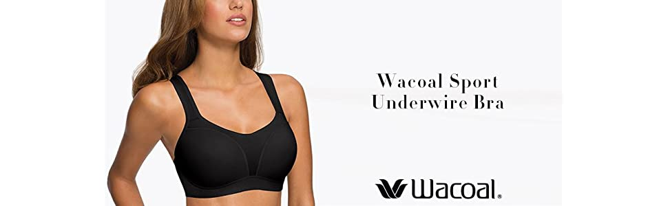 d16408c9f5de4 Wacoal Women s Sport Contour Bra  Amazon.ca  Clothing   Accessories
