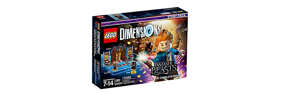 Warner Bros Interactive Spain Lego Dimensions: Fantastic Beasts (Story Pack): Fantastic Beasts, Story Pack: Amazon.es: Videojuegos