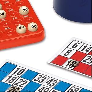 Cayro - Bingo automático - Juego Tradicional - Juego de plástico - Juego para niños y Adultos - Juego de Mesa (301): Amazon.es: Juguetes y juegos