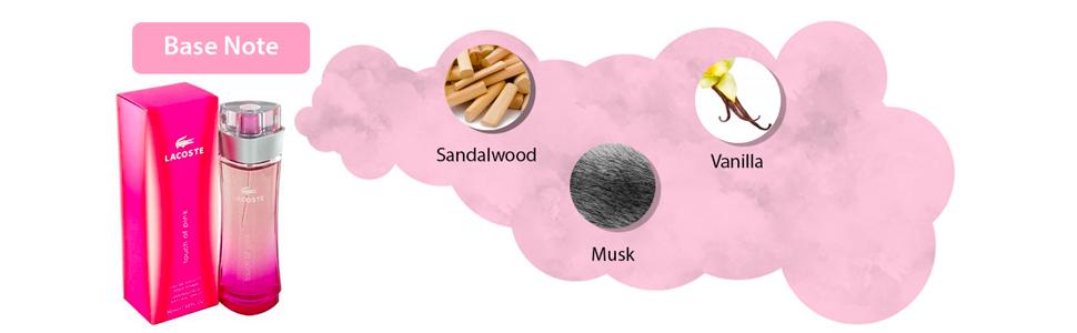 Touch of Pink by Lacoste for Women - Eau de Toilette, 90ml