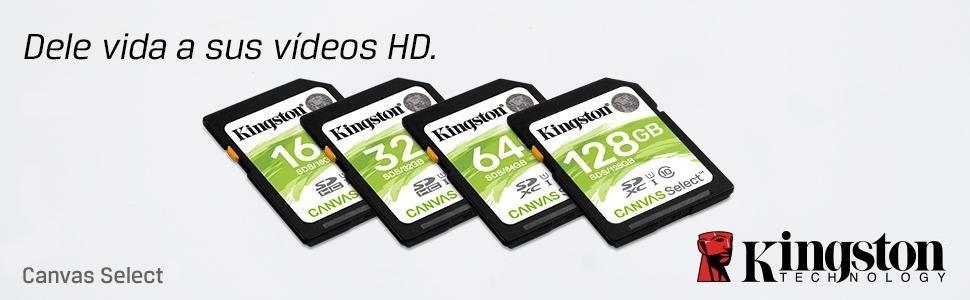 Kingston SDS/64GB - Tarjeta de Memoria SD (Micro SDS, 64 GB, UHS-I, Clase 10, hasta 80 MB/s)