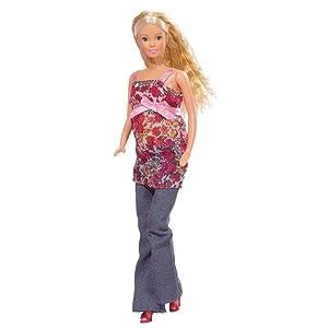 Steffi Love Bambola Barbie ragazza incinta giocattolo rimovibile Pancia accessori bambino 13