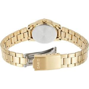 Casio Women's Gold Dial Stainless Steel Analog Watch - LTP-V001G-9BUDF
