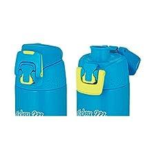 サーモス 水筒 真空断熱スポーツボトル 【ワンタッチ】 0.5L ミッキー ブルーライム