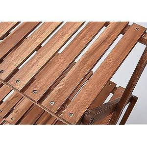 キャンパーズコレクション 3段ラック A3R-01 天然木の風合いが魅力の木製ラック