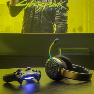 SteelSeries Arctis 1 Wireless Cyberpunk Edition for PC/PS4