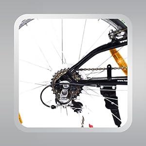 Back wheel of sprint fazer