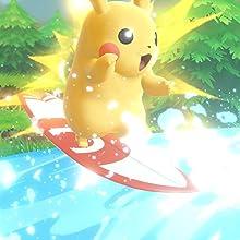 Pokémon: Lets Go, Pikachu! + Grips para Joy-Con: Nintendo ...