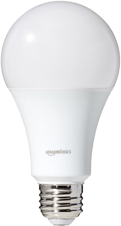 Amazonbasics 100 Watt Equivalent Soft White Dimmable A21 Led Light Bulb 16 Pack