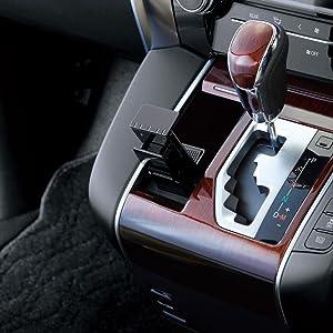 槌屋ヤック 携帯電話ホルダー トヨタ 30系 アルファード・ヴェルファイア専用 スマートフォンホルダー SY-AV7