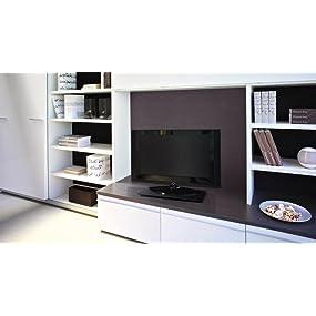 Meliconi Elite M - Plataforma giratoria para TV (360°), Negro: Amazon.es: Electrónica