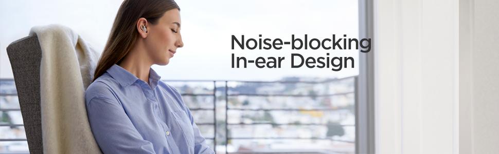 Noise-Blocking In-Ear Desigh Earphones
