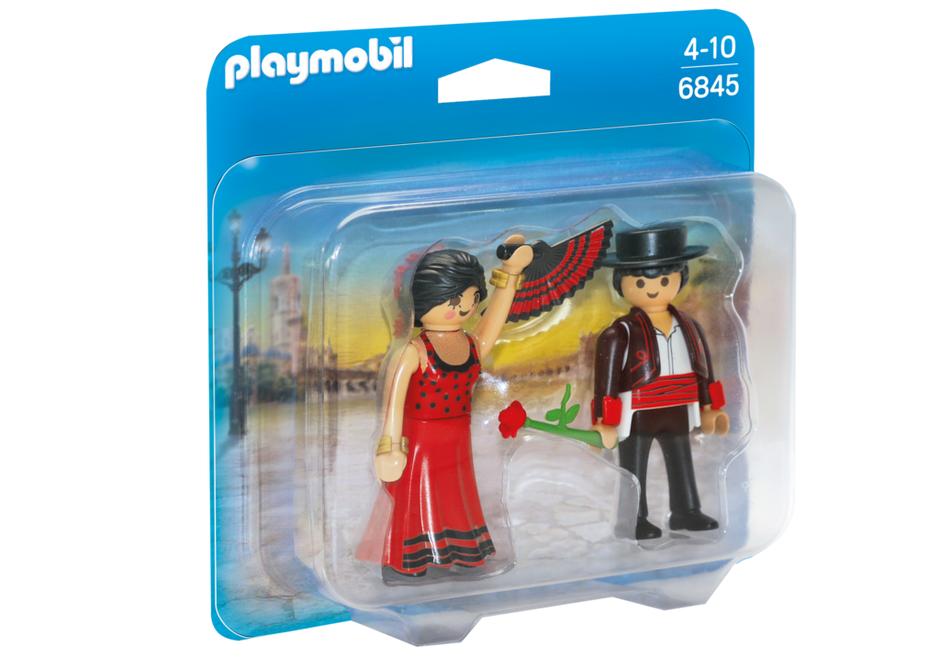 PLAYMOBIL Duo Pack- Flamenco Dancers Duo Pack Bailaores Figura con ...