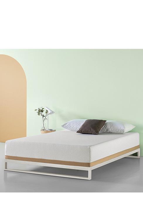 Amazon Com Zinus Memory Foam 12 Inch Green Tea Mattress