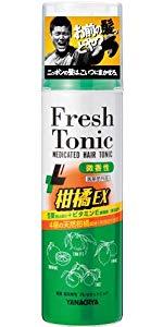 柳屋 薬用育毛 フレッシュトニック 柑橘EX <微香性> 190g