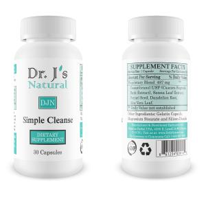 Dr Js Simple Cleanse Cleanses Colon and Liver