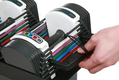 IN HAND Powerblock Sport Block 24lb Adjustable Dumbbell Set pack of 2