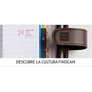Finocam Talkual - Agenda 2018-2019 semana vista apaisada español, 120 x 169 mm, morado