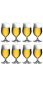 [正規品] RIEDEL リーデル ビールグラス 8個セット オヴァチュア ビアー 500ml 6408/11-8