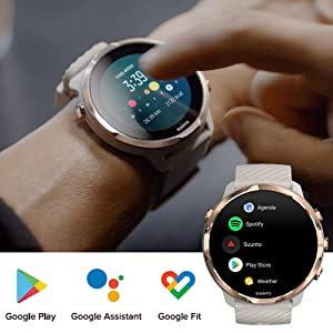 Wear OS by Google搭載の最新スマートウォッチ