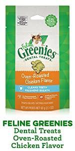 Dental Treats, Oven Roasted Chicken Flavor, Cleans Teeth, Plaque, Tartar, Oral Hygiene