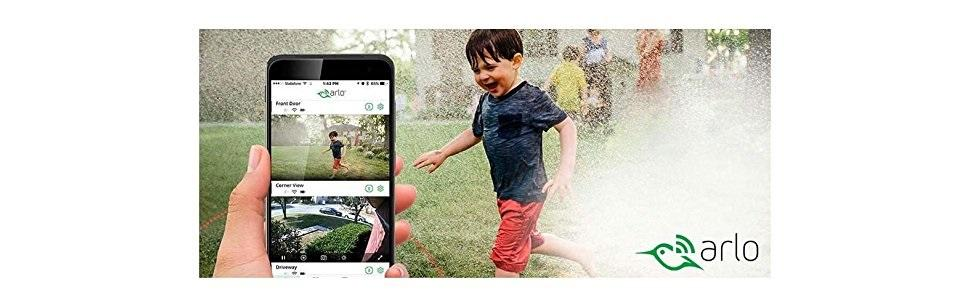 Arlo Go, App, V by Vodafone