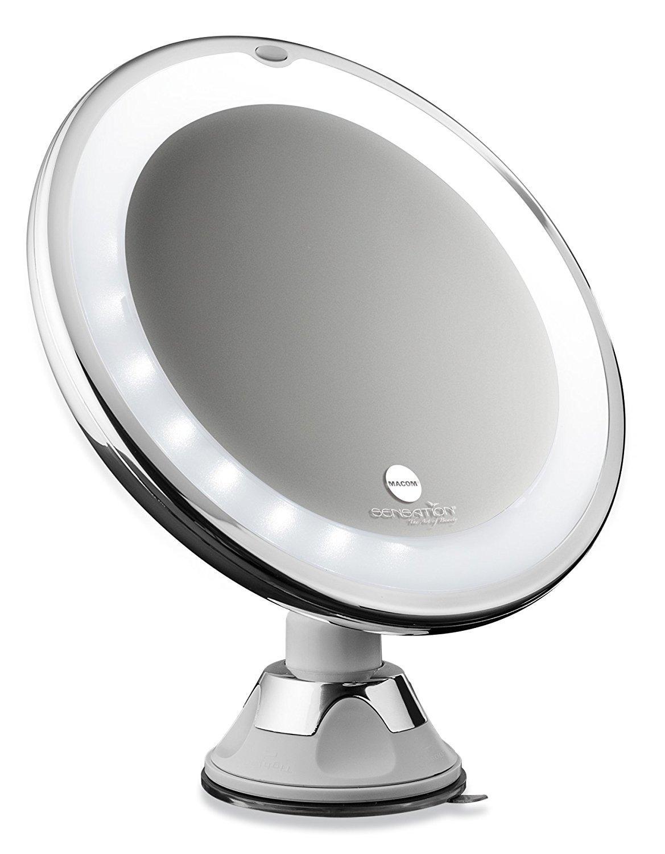 Specchi Ingranditori A Ventosa.Macom Sensation 224 Swingo Specchio Con Ventosa Cosmetico