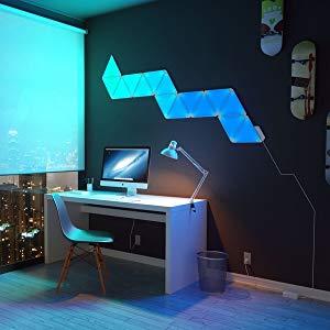 Nanoleaf Aurora Smarter Kit Set de iluminación LED, panel