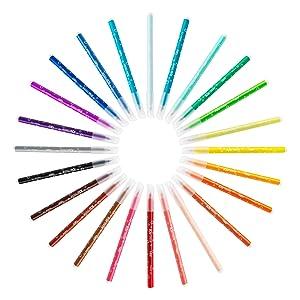 Los rotuladores Kid Couleur son una herramienta ideal para incentivar la creatividad sin miedo a las manchas. Con su capuchón ventilado, ...
