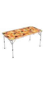 コールマン(Coleman) テーブル ナチュラルモザイクリビングテーブル 140プラス 2000026750