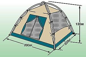 テント 軽量 コンパクト 収納 ドーム型テント クレセント