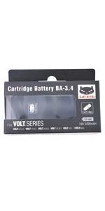 キャットアイ(CAT EYE) カートリッジバッテリー BA-3.4 VOLTシリーズ用 5342681