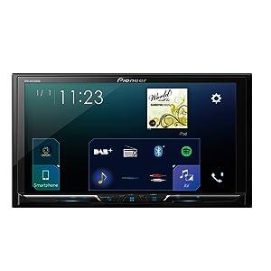 Pioneer Sph Da230dab 2dinautoradio 7 Zoll Clear Resistive Touchpanel Bluetooth Dab Digitalradio Apple Carplay Android Auto Heimkino Tv Video
