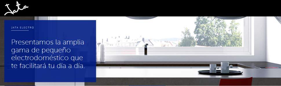 Jata BT171 Batidora electrónica de vaso, 700 W, 0.5 litros, 0 Decibelios, 2 Velocidades, Blanco y acero inoxidable
