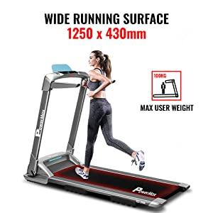 PowerMax Fitness - UrbanTrek TD-M4 (4.0HP Peak) Pre-Installed Motorized Treadmill