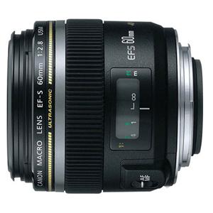 Canon EF-S 60mm f/2.8 USM Macro Lens, Black