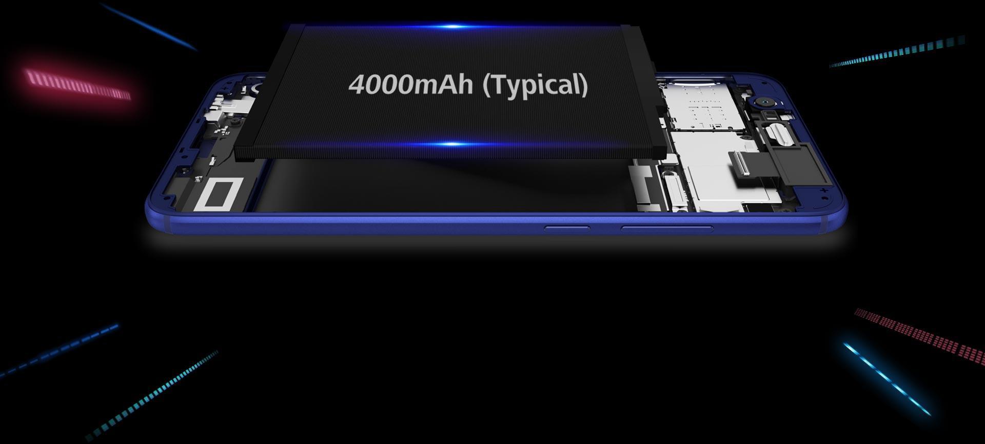 honor 8 pro smartphone 6 gb dual sim blu elettronica. Black Bedroom Furniture Sets. Home Design Ideas
