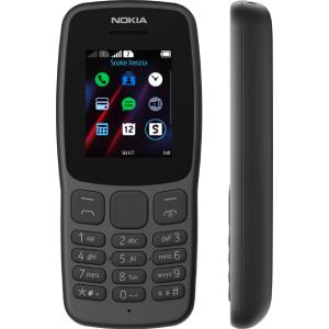 Nokia 106 Dual SIM- Dark Grey
