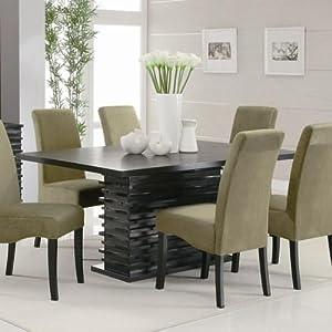 Coaster home furnishings stanton modern for Dining room wall art amazon