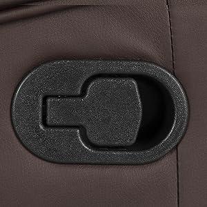 Sillón de Masaje Comfort con Sistema de Calor Lumbar y 10 Motores Que Cubren Las 4 Zonas corporales. Negro (Negro)