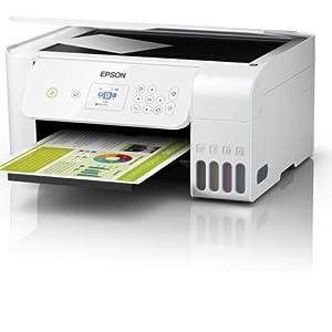 Epson EcoTank ET-2726 - Impresora de inyección de tinta 3 en 1 ...