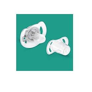 Philips Avent SCF176/28 - Set de 2 chupetes nocturnos que brillan en la oscuridad, de 0 a 6 meses, niña