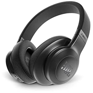 JBL On-Ear Bluetooth Headphones, Black - E55BT