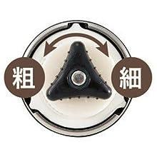 パール金属(PEARL METAL) ミル セラミック刃 ハンディータイプ Sサイズ 18-8 ステンレス製