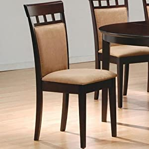 Coaster Cushion Back Dining Chairs