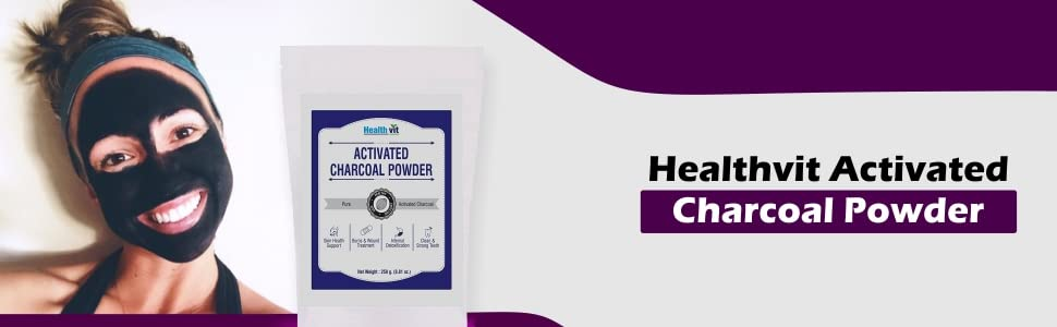 Healthvit Activated Charcoal
