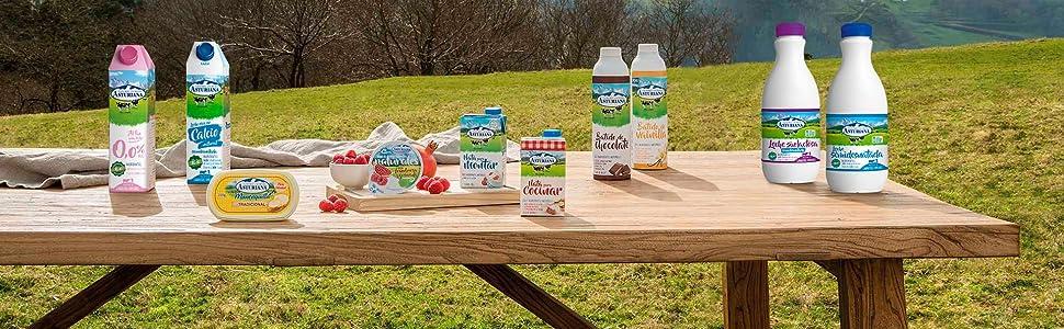 Central Lechera Asturiana Leche Clásica UHT - Paquete de 6 x 1500 ml - Total: 9000 ml: Amazon.es: Alimentación y bebidas