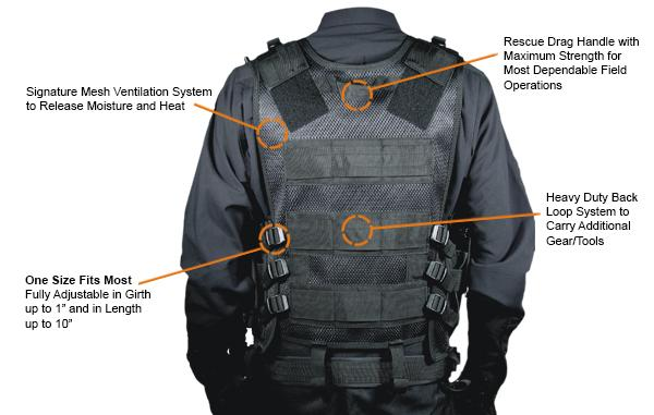 Gear Review UTG 547 LE Tactical Vest  Radical Survivalism