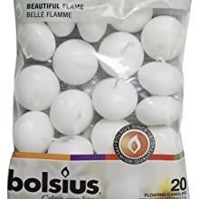 Bolsius Floating Candles White