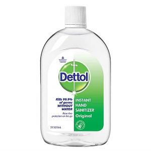 Dettol Original Germ Protection Alcohol based Hand Sanitizer Refill Bottle